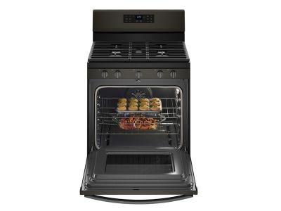 Whirlpool 5.0 cu. ft. Freestanding Gas Range with Fan Convection Cooking - WFG550S0HV