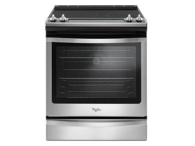 Whirlpool 6.4 Cu. Ft. Slide-In Electric Range with True Convection - YWEE745H0FS