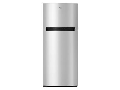 "28"" Whirlpool Refrigerator Compatible With The EZ Connect Icemaker Kit – 18 Cu. Ft. WRT518SZFM"