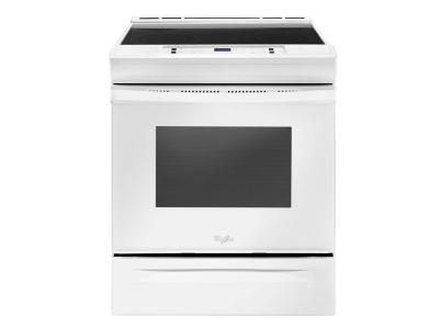 "30"" Whirlpool Self CleanElectric Range YWEE510S0FW"