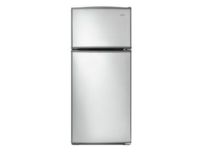 "28"" Whirlpool Top-Freezer Refrigerator with Improved Design - WRT316SFDM"