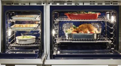 """48"""" Wolf Dual Fuel Range 4 Burners and Infrared Dual Griddle - DF484DG-LP"""