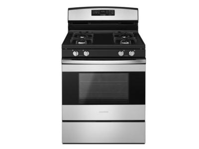 "30"" Amana Gas Range with Self-Clean Option - AGR6603SFS"