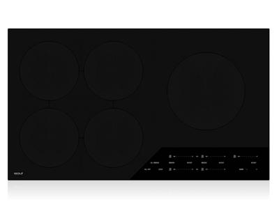 "36"" Wolf Contemporary Induction Cooktop - CI365C/B"