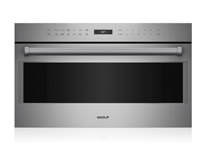 "30"" Wolf E Series Professional Drop-Down Door Microwave Oven - MDD30PE/S/PH"
