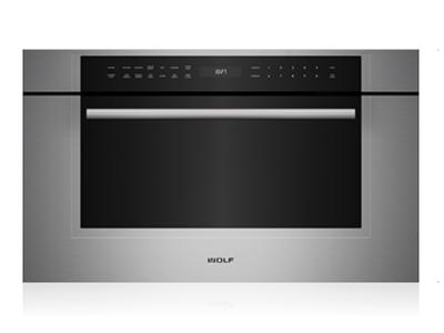 """30"""" Wolf M Series Transitional Drop-Down Door Microwave Oven - MDD30TM/S/TH"""