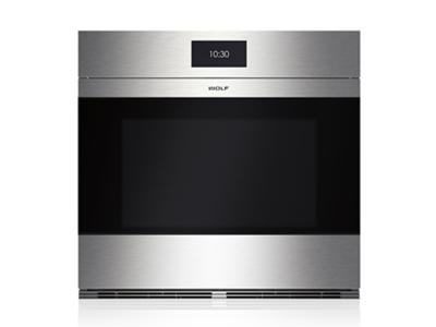 "30"" Wolf  M Series Contemporary Stainless Steel Built-In Single Oven - SO30CM/S"