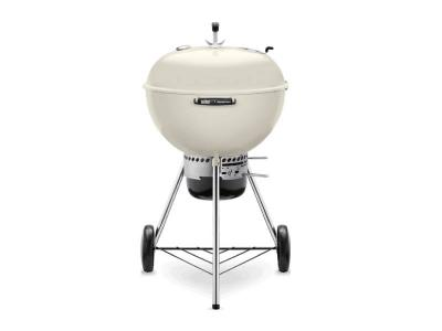 "24"" Weber Charcoal Grill with Built-In Thermometer in Ivory - Master-Touch (I)"