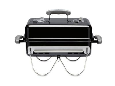 "21"" Weber Portable Charcoal Grill In Black - Go-Anywhere"