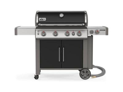 "65"" Weber 4-Burners Natural Gas Grill in Black - Genesis II E-435 NG"