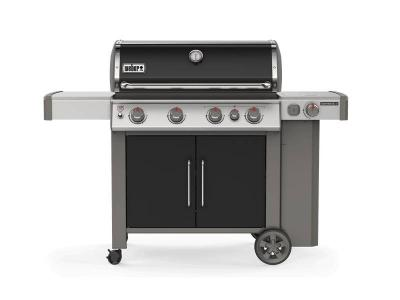 "65"" Weber 4-Burners Liquid Propane Gas Grill in Black - Genesis II E-435 LP"
