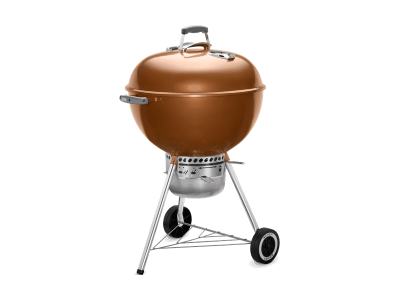 """23"""" Weber Charcoal Grill with Built-In Thermometer in Copper - Original Kettle Premium (C)"""