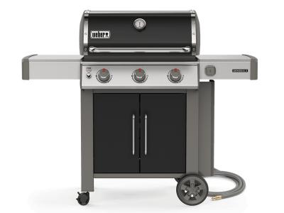 "59"" Weber Genesis II Series 3 Burner Natural Gas Grill With Welded Tube Frame - Genesis II E-315 NG"