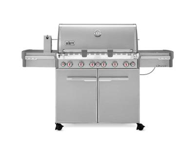 "74"" Weber Liquid Propane Gas Grill - Summit S-670 LP"