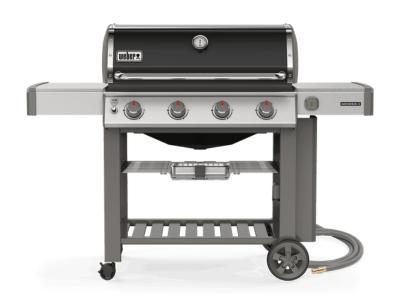"65"" Weber Genesis II Series 4 Burner Natural Gas Grill With Built-In Thermometer - Genesis II E-410 NG"