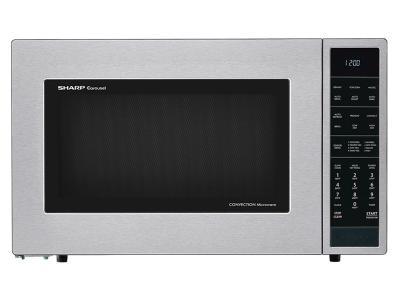 Sharp 1.5 Cu. Ft. Countertop Microwave Oven - SMC1585BS
