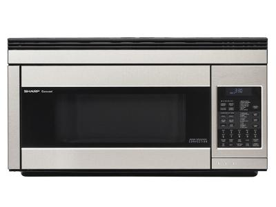 "30"" Sharp 1.1 cu. ft. Over-the-Range Convection Microwave Oven - R1874TY"