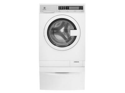 "24"" Electrolux Compact Washer with IQ-Touch Controls featuring Perfect Steam - 2.4 Cu. Ft. - EFLS210TIW"