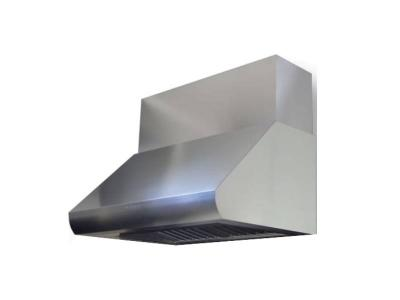 "48"" Sirius Professional Series Wall Mount Ducted Hood with 1100 CFM - SUTC3548"