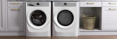 """27"""" Electrolux Front Load Electric Dryer with 5 cycles - 8.0 Cu. Ft. - EFDC317TIW"""