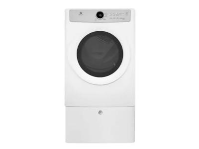 "27"" Electrolux Front Load Electric Dryer with 5 cycles - 8.0 Cu. Ft. - EFDC317TIW"