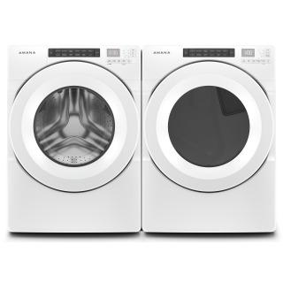 "27"" AmanaR 7.4 cu. ft. Front Load Electric Dryer with Moisture Sensors - YNED5800HW"