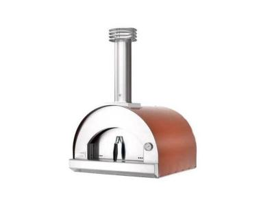 """32"""" Fontana Forni Margherita Single Chamber Pizza Oven in Red  - CA-FTMAR-R-GAS"""