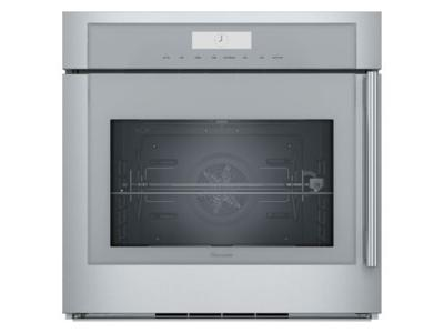 "30"" Thermador Masterpiece Series Single Built-In Oven, Left Side Swing Door - MED301LWS"