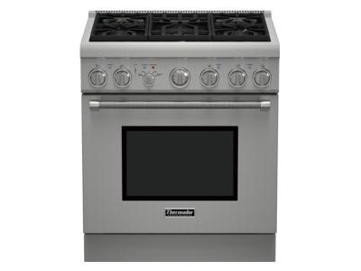 "30"" Thermador Professional Series Pro Harmony Standard Depth All Gas Range - PRG305PH"