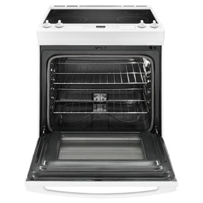 """30"""" Amana Electric Range With Front Console - YAES6603SFW"""