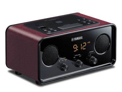 Yamaha Desktop Audio System (Dark Red) - TSXB72R