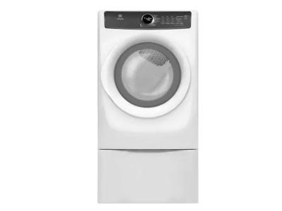 "27"" Electrolux Front Load Perfect Steam Gas Dryer with 7 cycles - 8.0 Cu. Ft. - EFMG427UIW"