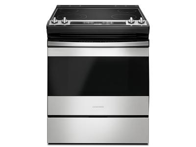 """30"""" Amana Electric Range With Front Console - YAES6603SFS"""