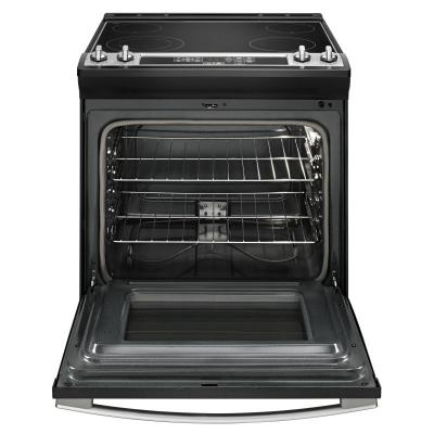 "30"" Amana Electric Range with Front Console  - YAES6603SFS"
