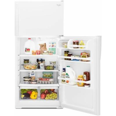 "28"" Whirlpool Top-Freezer Refrigerator with Freezer Temperature Control - WRT134TFDM"