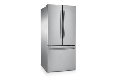 "30"" Samsung  21.6 cu.ft 3-Door French Door Refrigerator (Stainless Steel) - RF220NCTASR"
