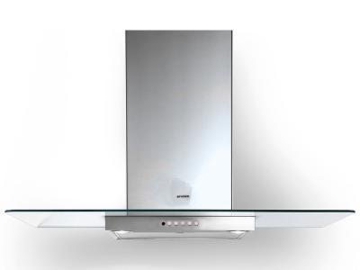 "36"" Faber Glassy Wall Mount Hood - GLAS36SS300-B"