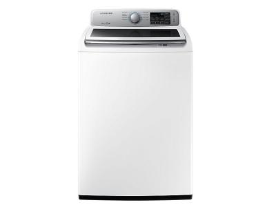 "27"" Samsung WA7150N Top-Load Washer with Built-in Water Jet - WA45N7150AW"
