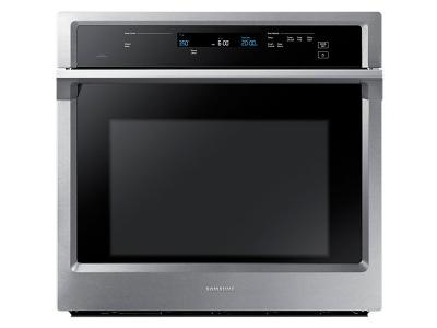 "30"" Samsung Convection Single Oven with Steam Bake, 5.1 cu.f - NV51K6650SS"