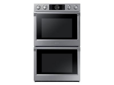 "30"" Samsung Convection Double Oven with Steam Bake and Flex Duo, 10.2 cu.ft - NV51K7770DS"