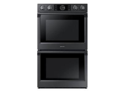 "30"" Samsung Convection Double Oven with Steam Bake and Flex Duo, 10.2 cu.ft - NV51K7770DG"
