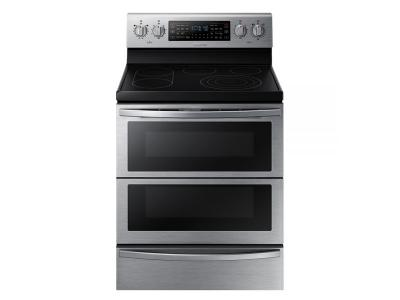 "30"" Samsung Single Oven Electric Range in Stainless Steel - NE59T7851WS"