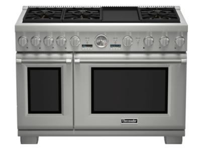 "48 "" Thermador  Professional Series Pro Grand Commercial Depth All Gas Range - PRG486JDG"