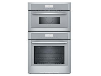 "30"" Thermador Masterpiece Series Combination Wall Oven - MEM301WS"