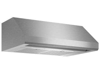 "30"" Thermador Low-Profile Wall Hood, 600 CFM - HMWB30WS"