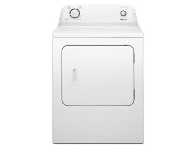 6.5 cu. ft.  Amana Top-Load Electric Dryer with Automatic Dryness Control - YNED4655EW