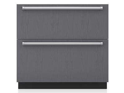 "36"" SubZero Refrigerator Drawers - Panel Ready - ID-36R"
