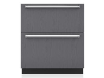 "30"" SubZero Refrigerator Drawers with Air Purification - Panel Ready - ID-30RP"