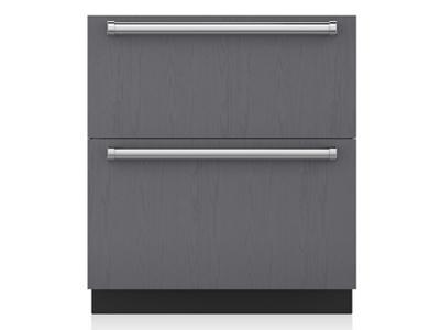 "30"" SubZero Refrigerator Drawers - Panel Ready - ID-30R"