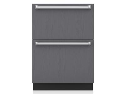 "24"" SubZero Refrigerator Drawers - Panel Ready - ID-24R"